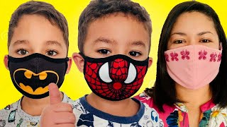 Wear your Mask Song for kids