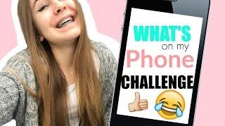 What's on my phone - CHALLENGE 😂    Typisch Kassii