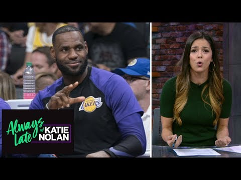 LeBron James makes us all look bad | Always Late with Katie Nolan