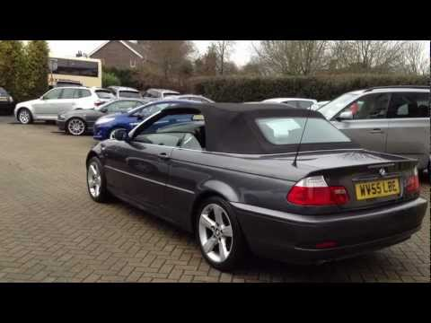 bmw 320 ci se convertible sold by cmc cars youtube. Black Bedroom Furniture Sets. Home Design Ideas