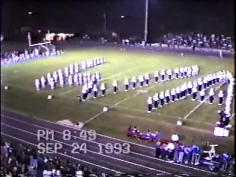 Wayne High School Marching Band Fri Sep 24 1993 Motown