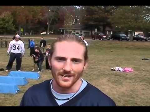 Wheaton Football at Hawthorne Elementary School