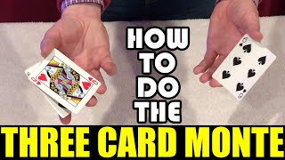Three Card Monte Scam Explained!
