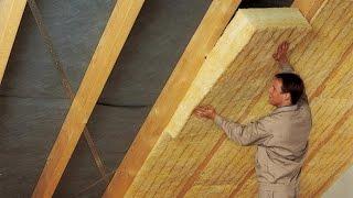 КАК УТЕПЛИТЬ КРЫШУ(О том, как утеплить крышу дома правильно, вы узнаете, посмотрев данное видео. А также: способы теплоизоляции..., 2015-03-09T23:58:17.000Z)