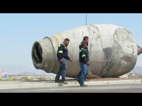 CAUGHT ON CAMERA Cement Truck Crash | EL PASO, TX    4.14.21