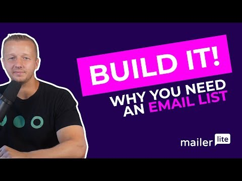Building an Email List in 2019 – Getting Started