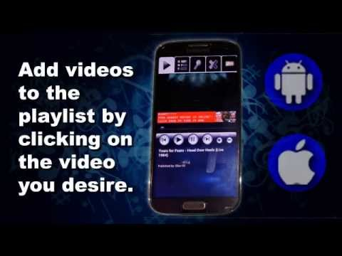 VideoJuke - A YouTube Powered Video Jukebox for Android/IOS - Updated 8-4-14