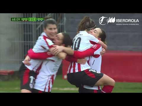 Athletic Féminas 2-1 Real Sociedad - 동영상