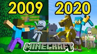 Evolution of Minecraft ❤️2009-2020
