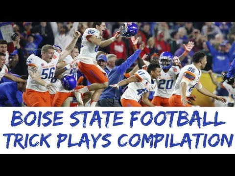 BEST Boise State Trick Plays Compilation Top 10 BSU