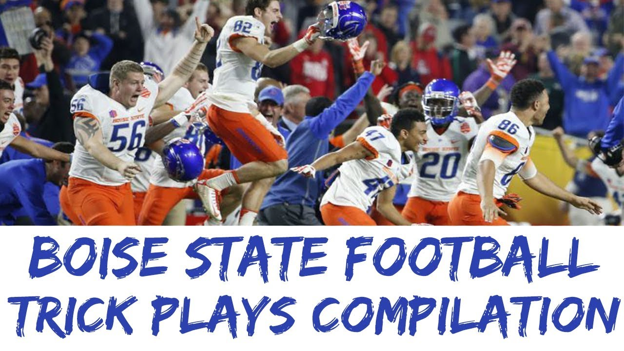 Download BEST Boise State Trick Plays Compilation Top 10 BSU