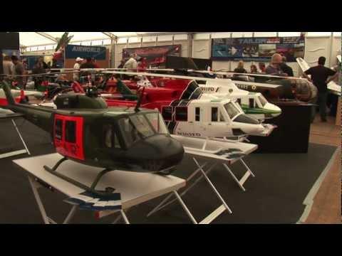 JetPower Messe 2009 - Jet Helicopters Part 1 - Indoor Exhibition