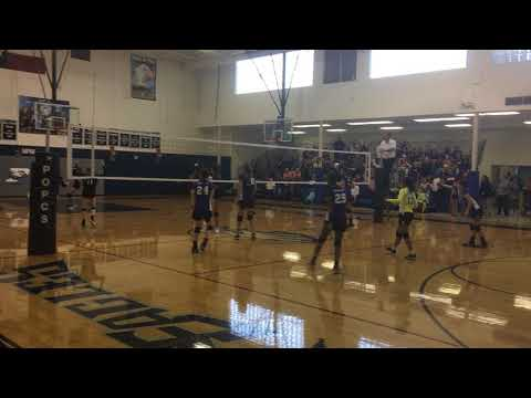 PT Warriors JHA vs Prince Of Peace Christian School 2017 (End of Set 2)