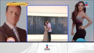 ¡Ya se comprometieron! Paco Zea le dio el anillo a Sherlyn   Sale el Sol   Imagen Entretenimiento