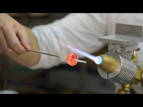 Cuentas de vidrio huecas (hollow beads)