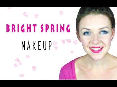 COLOR ANALYSIS | BRIGHT SPRING MAKEUP