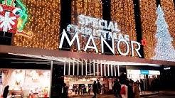 GENEVE - Christmas Noel Suisse - Switzerland - Manor 2020 Centre ville de Geneve