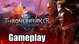 THRONEBREAKER: THE WITCHER TALES [PS4 PRO] Gameplay - Checking it out! (Also Happy Holidays!)