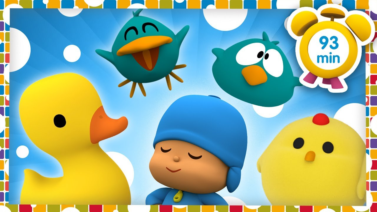 🐤POCOYO in ENGLISH - Funny Birds [93 min] Full Episodes |VIDEOS and CARTOONS for KIDS