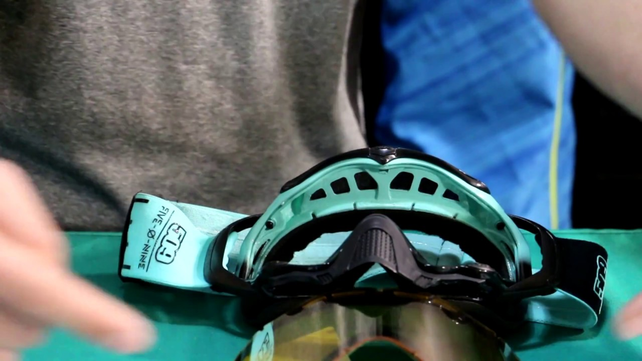 8bb662b40b How to change a 509 Sinister X5 Goggle Lens - YouTube