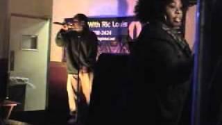 Smokey Robinson and Rick James - Ebony Eyes - Karaoke by Curtis