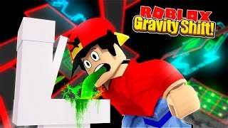 ROBLOX - GRAVITY SHIFT, THIS GAME WILL MAKE YOU PUKE!!