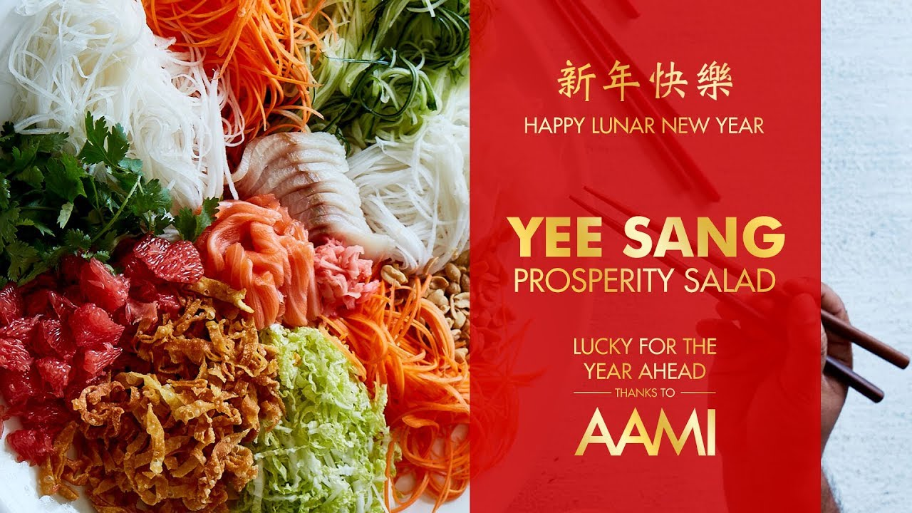 Yee Sang Prosperity Salad | Chinese New Year | Easy Chinese Recipe