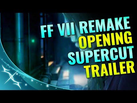 FINAL FANTASY VII REMAKE OPENING - SUPERCUT TRAILER | TheLifestream.net