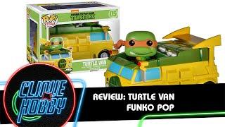 Review: Furgão das Tartaruga Ninja Funko Pop Ride / Funko Pocket - Teenage Mutant Ninja Turtle