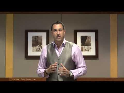 Closing Techniques That Really Work - Speaker Erik Swanson