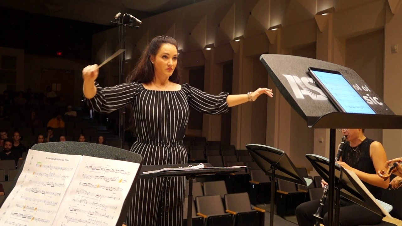 """World Premiere: """"To the Bright East She Flies"""" (Katzin Concert Hall)"""