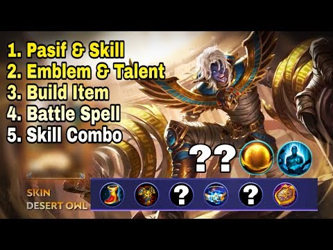 New Hero [KHUFRA] Skill, Emblem, Build, Combo Full Tutorial Menuju PRO - Mobile Legend Bang Bang thumbnail