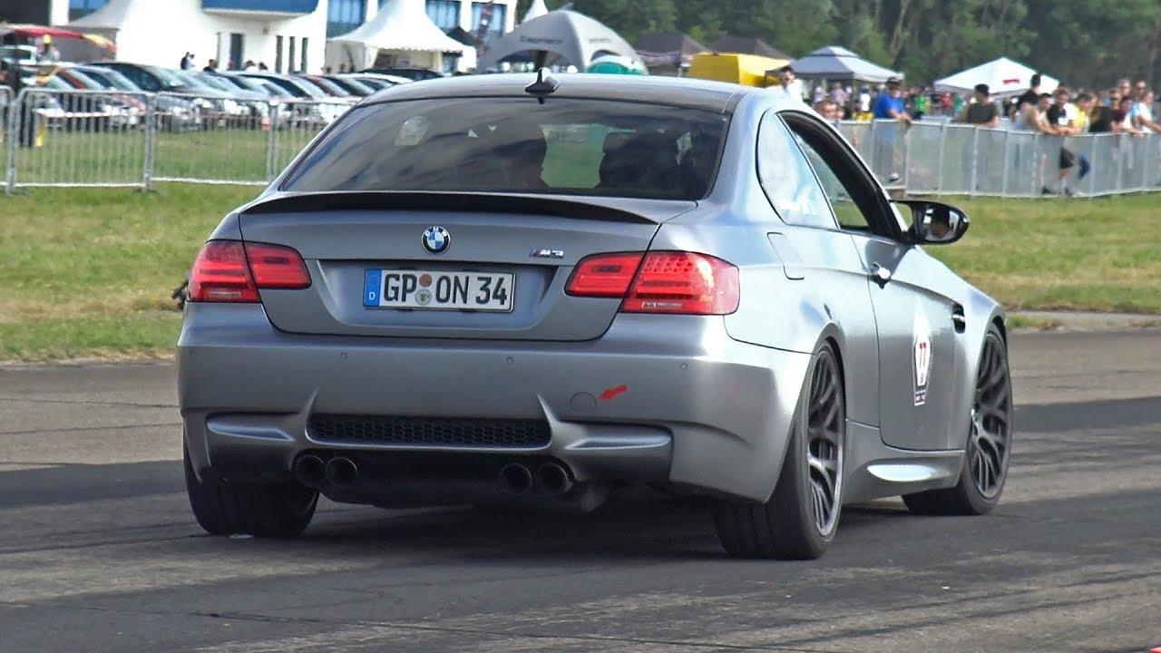 BMW M3 E92 G-POWER V8 COMPRESSOR - BRUTAL ACCELERATIONS ...
