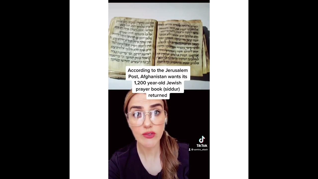 afghanistan's stolen jewish prayer book
