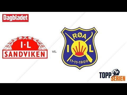 Sandviken - Røa Fotball Elite. Toppserien 2017, 22. runde