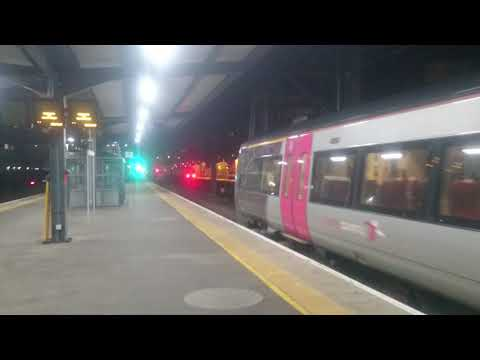 Cambridge Greater Anglia Stansted Express train
