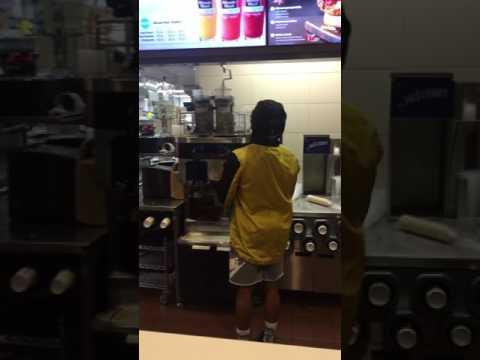 Racist McDonald's employee didn't want to serve ice cream