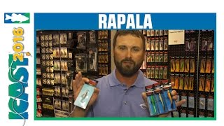 Rapala Flat Jig & New Snap Rap Colors with Jeremy Smith | ICAST 2016