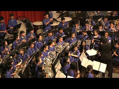 Kaimuki Middle School Symphonic Winds - Merry Christmas, Darling - Ala Moana Center Stage 12/20/2017