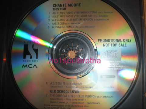 """Chanté Moore """"This Time"""" (Allstar's Radio Vybe w/o Rap)"""