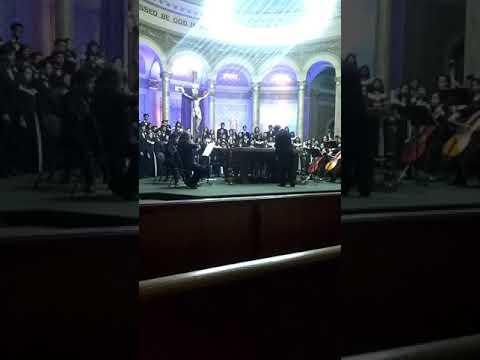 Mt Eden High school choir concert