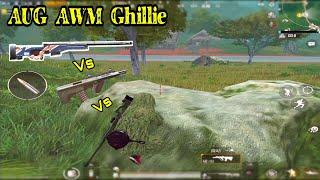 AUG + AWM + Bộ Đồ Người Rừng Tất Cả Làm Lên 1 Trận Đấu | PUBG Mobile