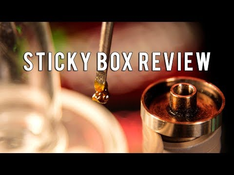 Sticky Box eNail Dab Rig Kit Review