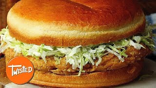 Giant Mayo Chicken Sandwich Recipe | Shareable Food |  Epic Party Dishes | Twisted