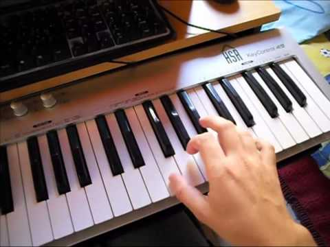 Testing My New HSR Keystation 49 MIDI Controller