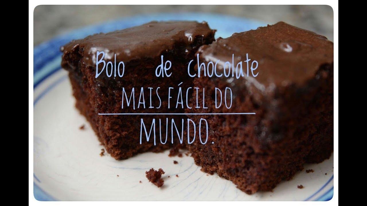 Resultado de imagem para bolo de chocolate