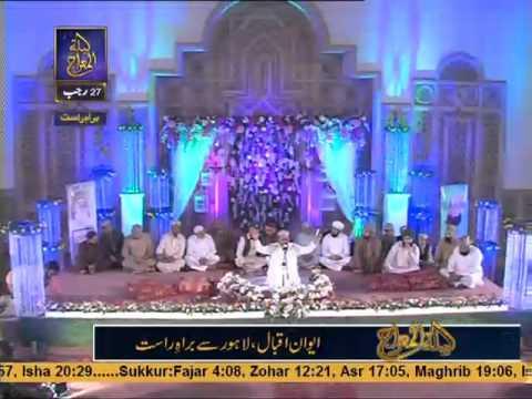 alhaj muhammad farooq mehrvi new naat 2015    ary Qtv  rabe alam ne togh ko bolaya vaha