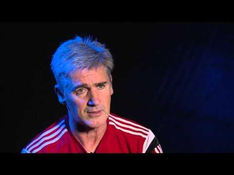 Alan Irvine previews West Bromwich Albion's Premier League fixture against Manchester United