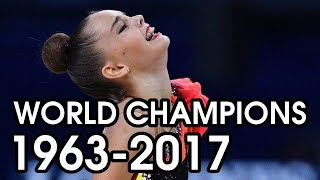 AA World Champions 1963-2017 | Gymnastics Through The Years
