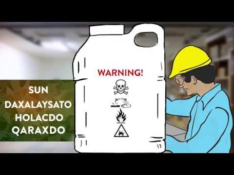 Safe use of pesticide in Somali Language
